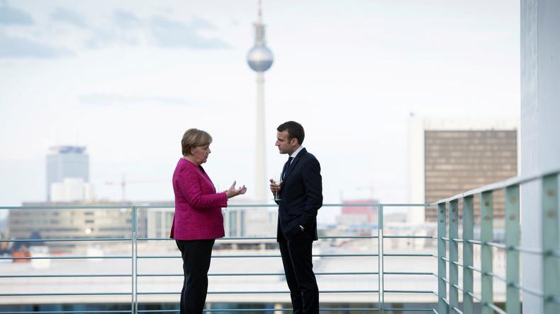 """Dr. Bronson: """"Merkel und Macron von Instinkt zur Machterhaltung geleitet"""""""