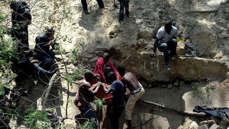 Mindestens 24 Tote bei Grubenunglück in Südafrika