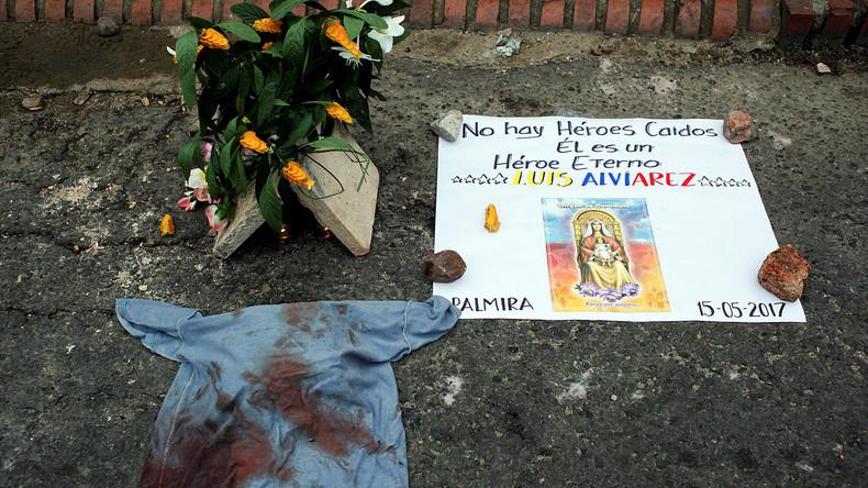 Vier Menschen bei Protesten gegen Regierung in Venezuela getötet