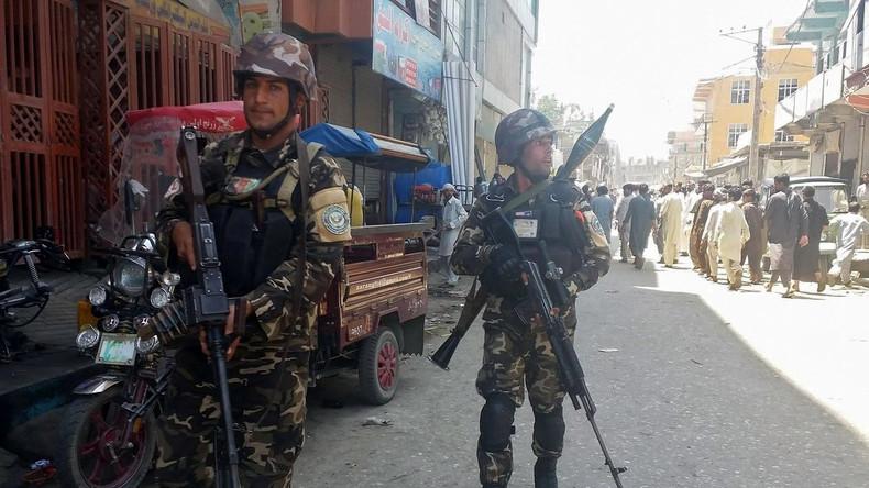 Bürogebäude der staatlichen Sendeanstalt in Afghanistan überfallen
