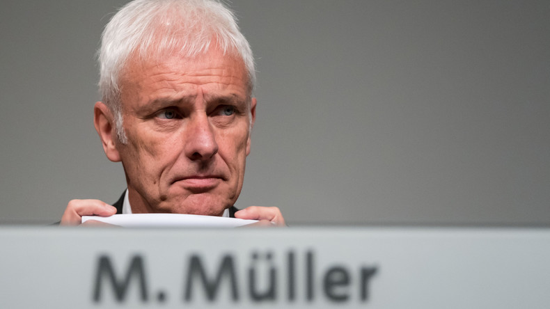 Ermittlungen gegen VW-Chef Müller wegen Verdachts auf Marktmanipulation eingeleitet