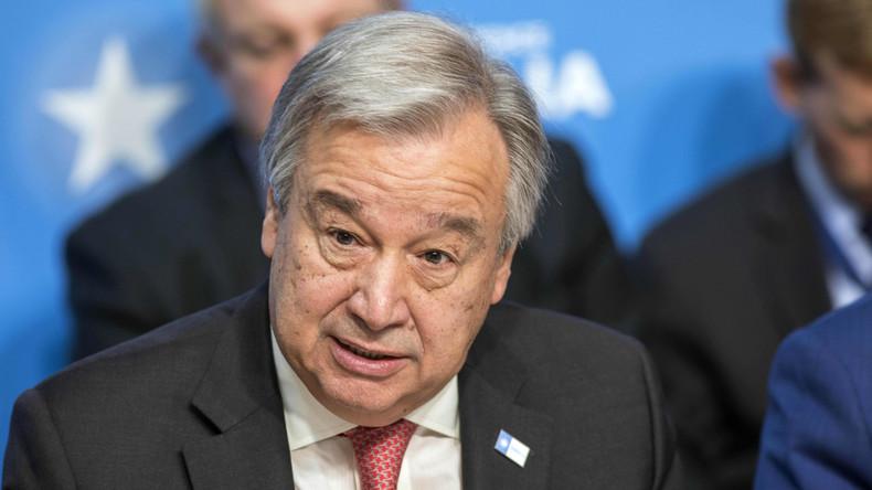 UN-Chef Guterres: EU muss Führung in Flüchtlingskrise übernehmen