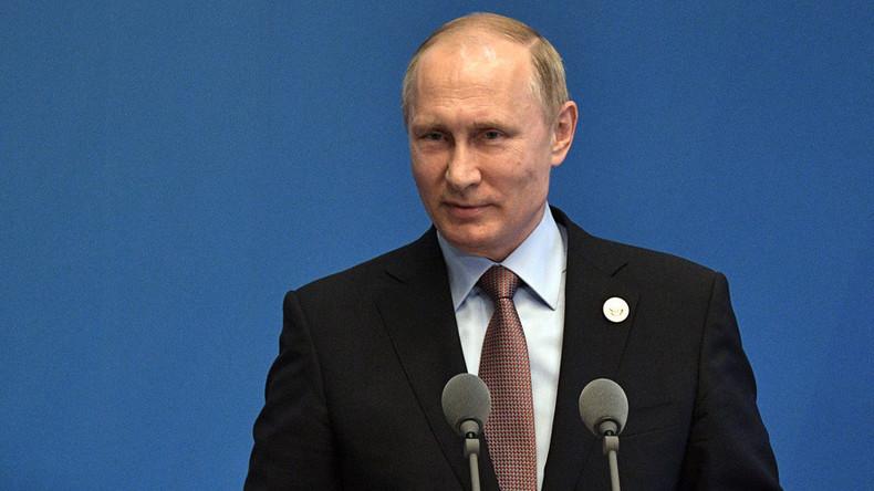 Putin erklärt sich bereit, Notizen zu Trump-Lawrow-Gespräch zu veröffentlichen