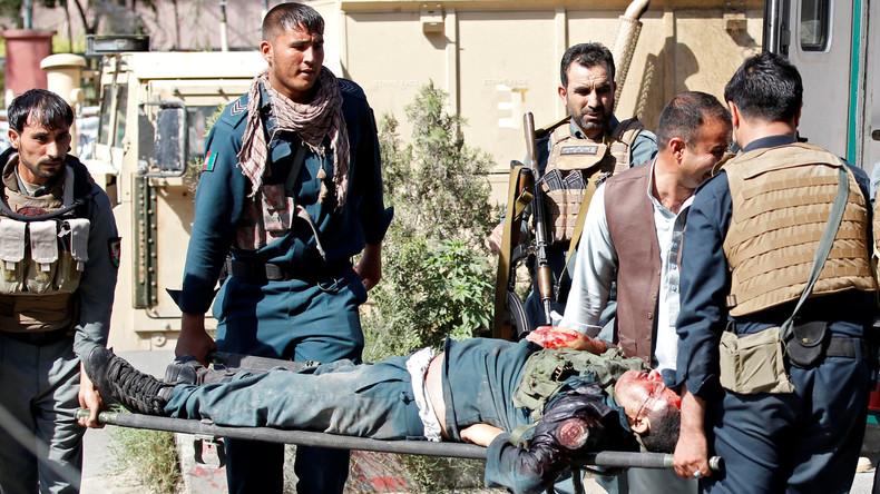 Angriff auf Staatssender in Afghanistan fordert zehn Menschenleben, IS reklamiert Tat für sich