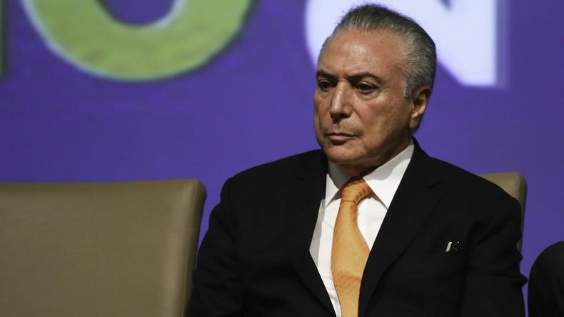 """""""Bombe"""" in Brasilia: Präsident Temer durch Mitschnitte unter Druck"""