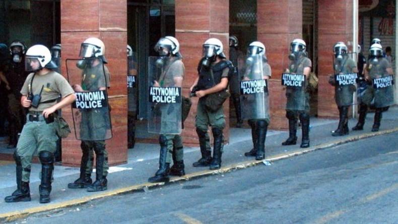 LIVE: Proteste gegen neue Sparmaßnahmen in Athen