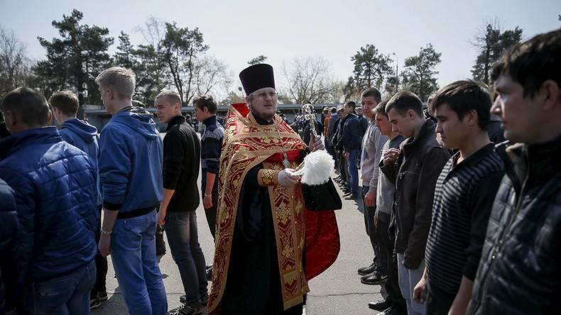 Das ukrainische Parlament sagt der Russisch-Orthodoxen Kirche den Kampf an