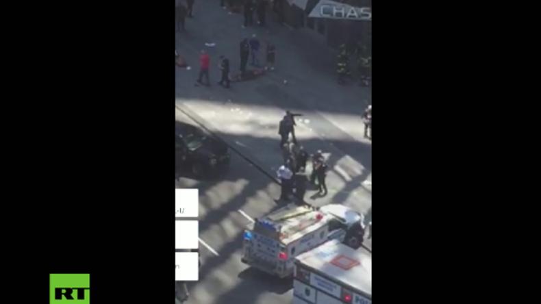 Ausnahmezustand am Times Square in New York: Raser hinterlässt 22 Verletzte und einen Toten