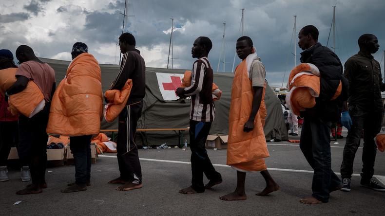 Rund 2.300 Migranten an einem Tag aus dem Mittelmeer gerettet