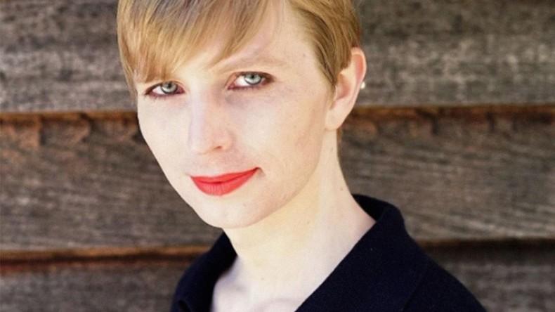 Bild von Chelsea Mannings Transformation nach ihrer Freilassung