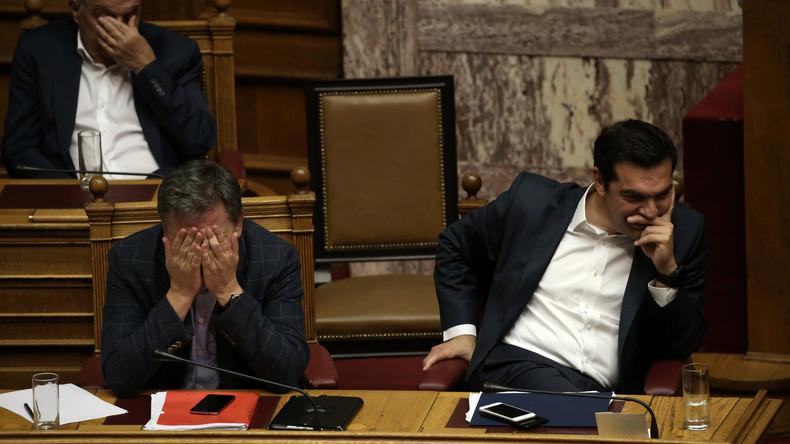 Griechisches Parlament billigt neues hartes Sparprogramm