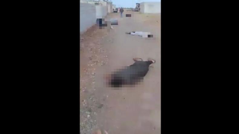 Schockierende Videos aus Syrien: IS überfällt Dorf – Über 50 Tote, viele Frauen und Kinder