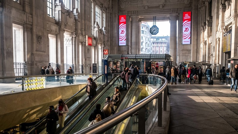 Messerangriff im Mailänder Hauptbahnhof - Terror ausgeschlossen