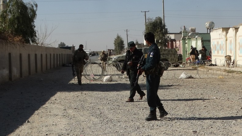 Elf afghanische Polizisten getötet