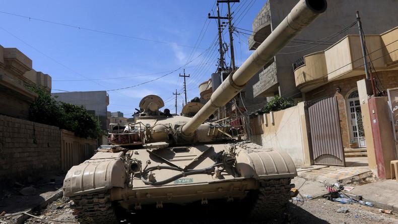 Irakische Streitkräfte melden weiteren Vormarsch gegen IS in Mossul