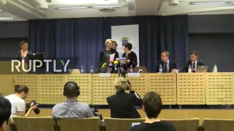 Live: Schwedische Staatsanwaltschaft gibt Pressekonferenz zu Assange