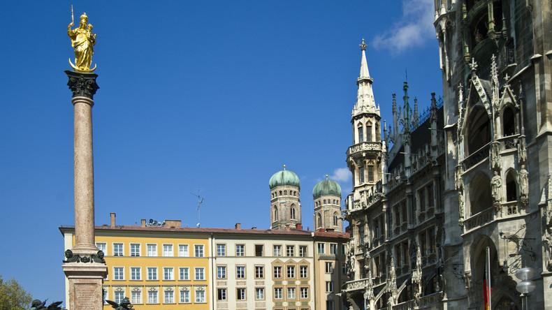Mann verbrennt sich in München