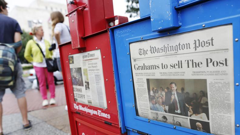 The Washington Post: Hauptquelle für Massenhysterie in den USA
