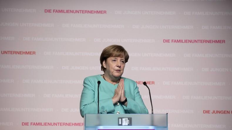 Merkel wieder ganz oben auf deutscher Beliebtheitsskala