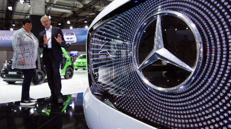 Daimler steckt dreistelligen Millionenbetrag in chinesischen Großhändler