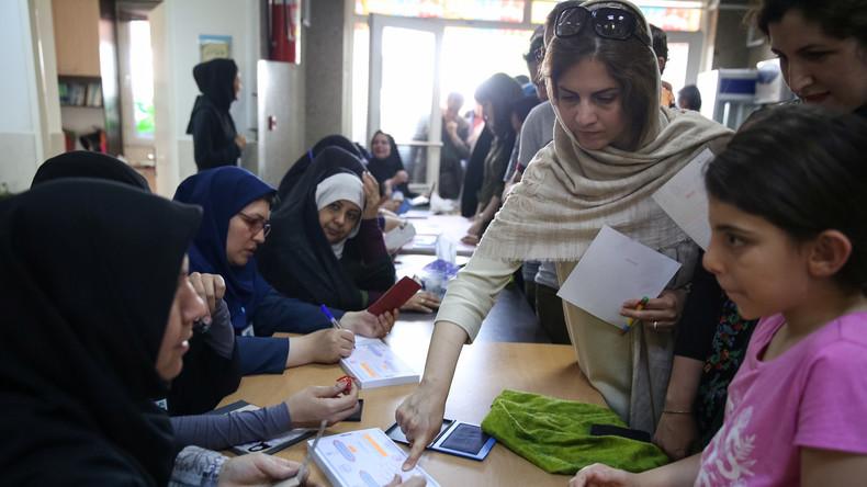 Präsidentschaftswahlen im Iran: Hohe Wahlbeteiligung