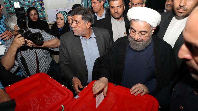 Hassan Rohani führt deutlich bei Präsidentenwahl in Iran