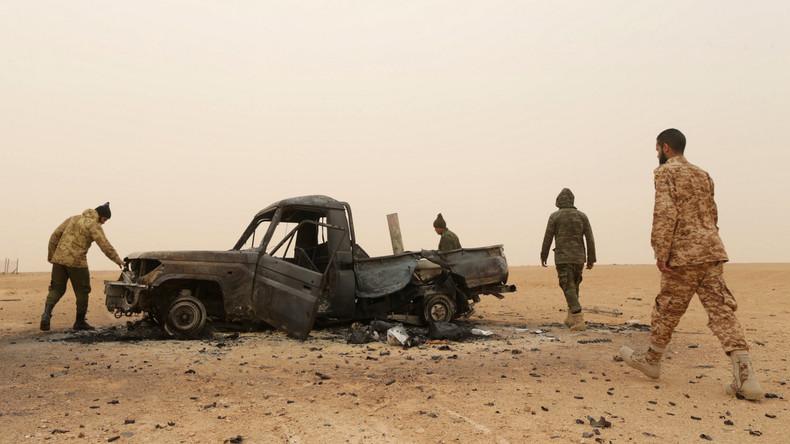 Nationale Libysche Armee vermeldet mehr als 140 Tote nach Attacke auf Militärstützpunkt