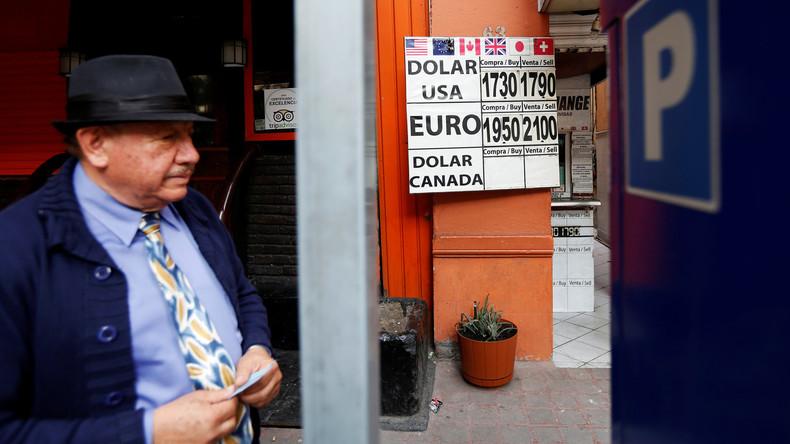 Peso-Verfall belastet deutsche Unternehmen in Mexiko