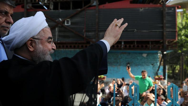 Rouhani gewinnt Präsidentenwahl im Iran