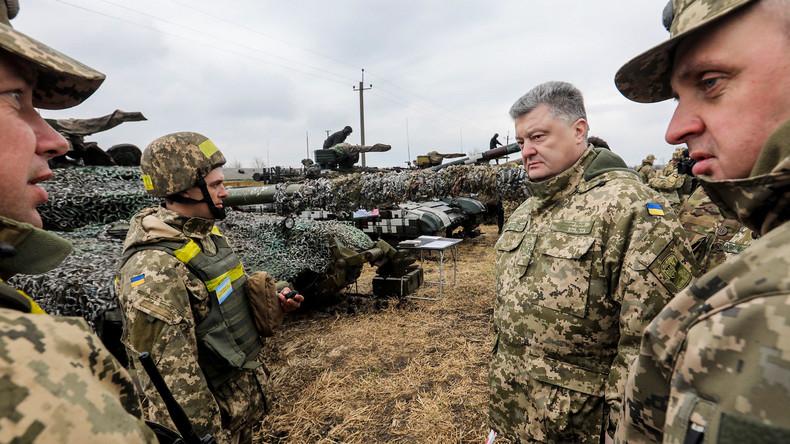 Kiew schickt modernisierte T-80-Panzer in den Donbass
