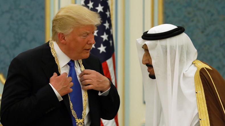 Donald Trump erhält Saudi-Arabiens höchste Medaille