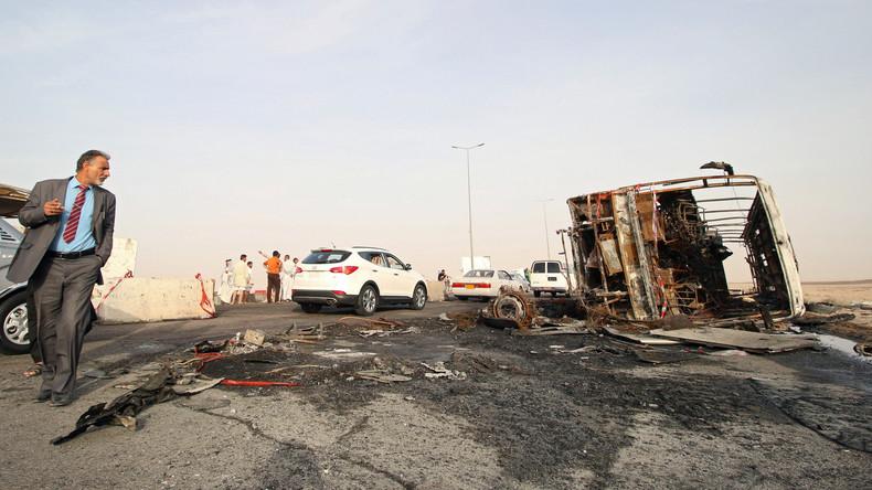 IS bekennt sich zu Terrorserie im Irak mit fast 40 Toten