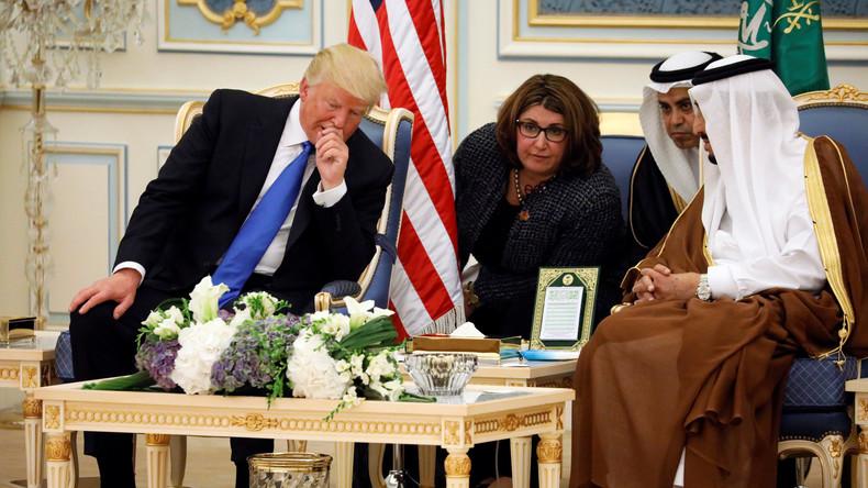 Washington und Riad einigen sich auf Waffendeal über insgesamt 350 Milliarden Dollar
