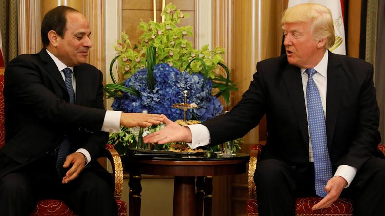 US-Präsident Donald Trump nimmt Einladung zu Besuch in Ägypten an
