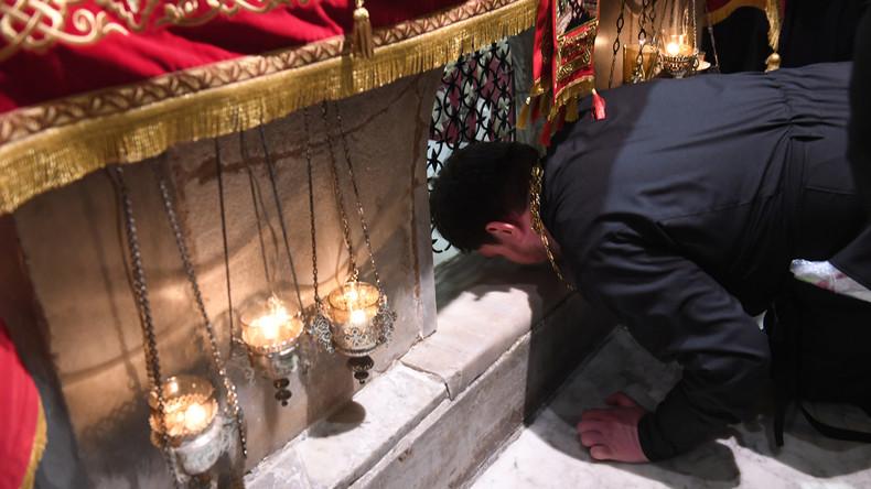 Reliquien des Nikolaus von Myra treffen erstmals in Moskau ein