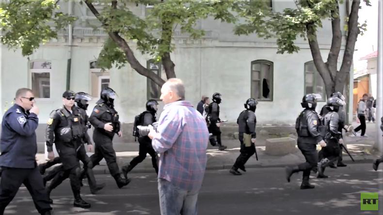 Furchtlos gegen Schande. Hunderte Polizisten schützen LGBT-Aktivisten in Moldova