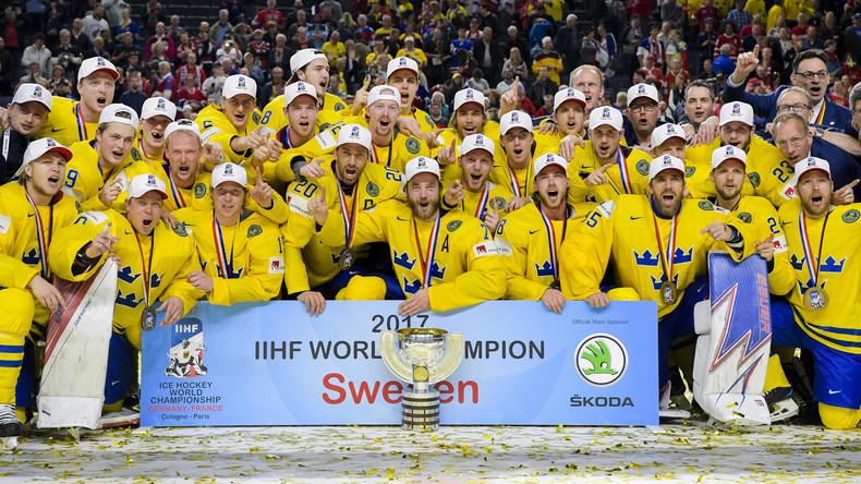 Schweden entthront Kanada und wird zum zehnten Mal Eishockey-Weltmeister