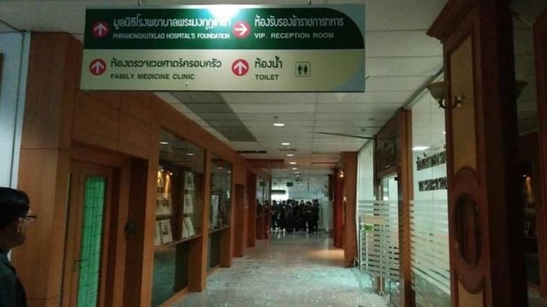 Über 20 Verletzte bei Explosion in Krankenhaus in Bangkok