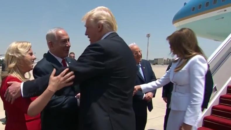Live: Donald Trump erreicht Israel nach Besuch in Saudi Arabien