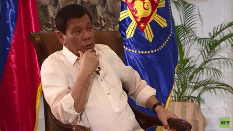 Duterte: Westen ist doppelzüngig, ich will mehr Verbindungen mit China und Russland
