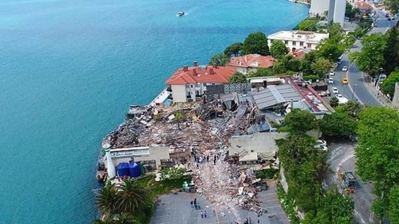 Nach Silvester-Angriff: Istanbuler Club Reina weitgehend abgerissen