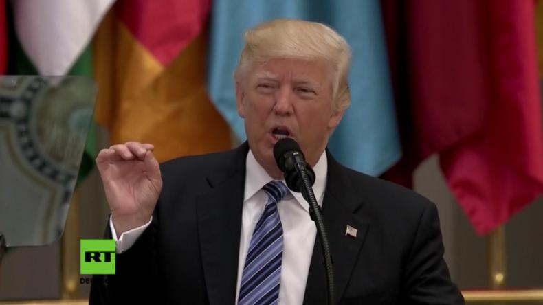 """""""Schmeißt sie raus!"""" - Trump spricht über Terroristen in Saudi-Arabien"""