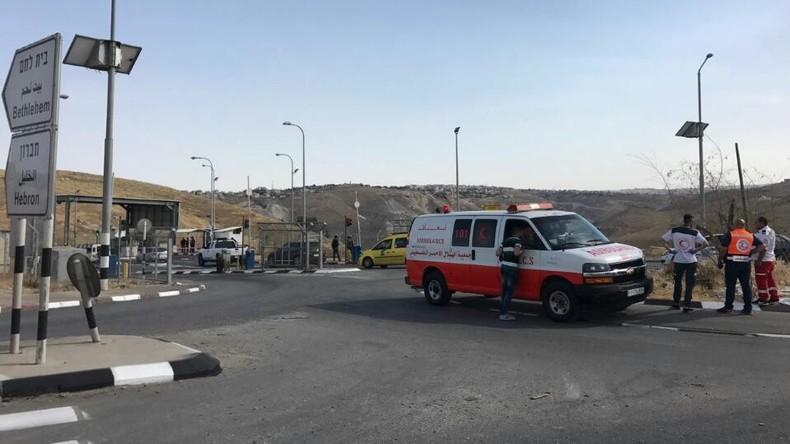 Palästinenser während Trump-Besuch bei Messer-Attacke getötet