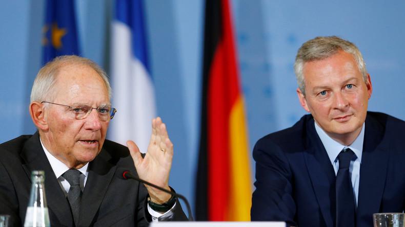 Deutschland und Frankreich wollen Eurozone rasch stabilisieren