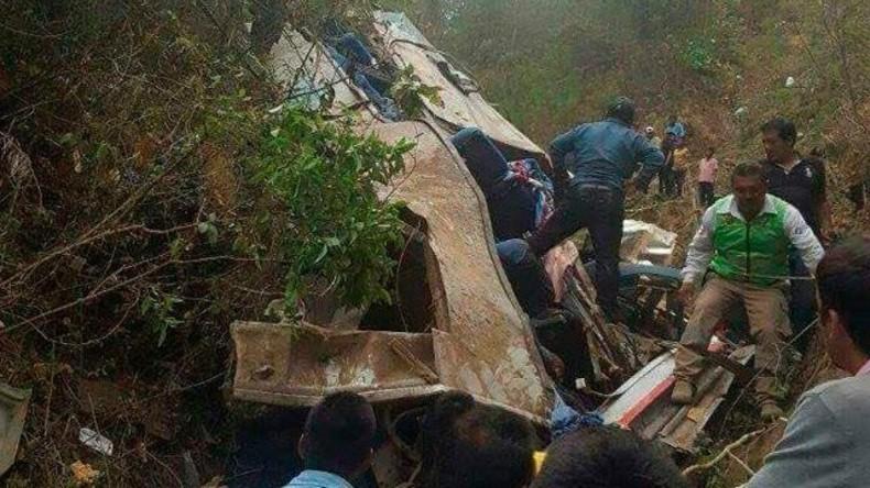 Mindestens 16 Tote bei schwerem Busunglück im Süden von Mexiko