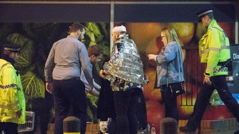 Explosionen in Manchester - Polizei geht von Terroranschlag aus - Mindestens 19 Tote
