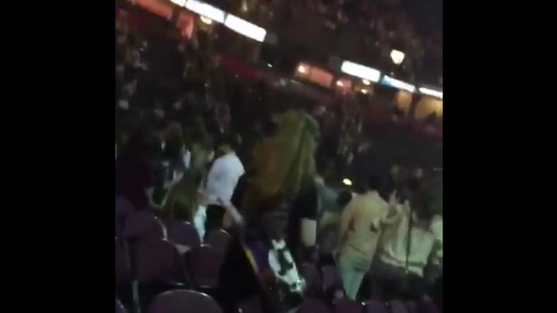 Moment der Explosion auf Konzert von Ariana Grande in Manchester