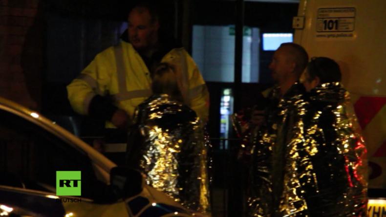 Terroralarm in Manchester: Kurz nach Explosion auf Konzert, die 22 Menschen, darunter Kinder, tötete