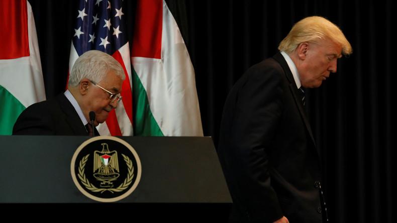 Trumps Treffen mit Abbas im Schatten des Terrors von Manchester