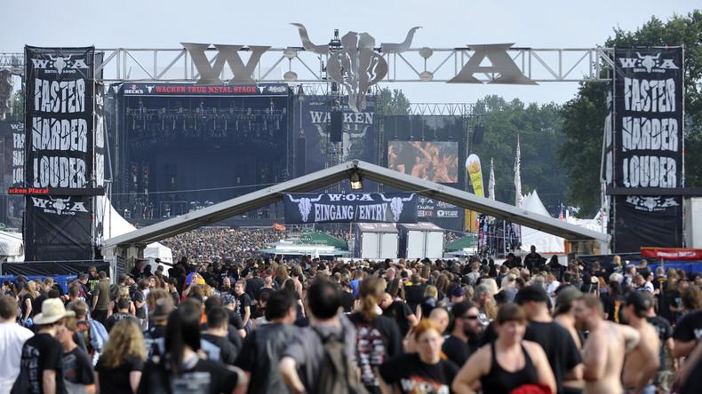 Metal-Festival Wacken wird dieses Jahr mit Bier aus Pipeline versorgt